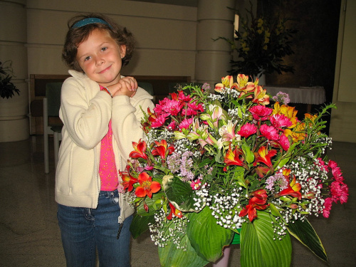 #kwiaty #bukiety #wnuczka #rodzina