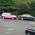 S klasa & Uno #mercedes #SKlasa #fiat #uno #różowy #limuzyna #w220