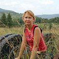 #ludzie #kobieta #portret #postać #uroda #góry #Bieszczady #widoki