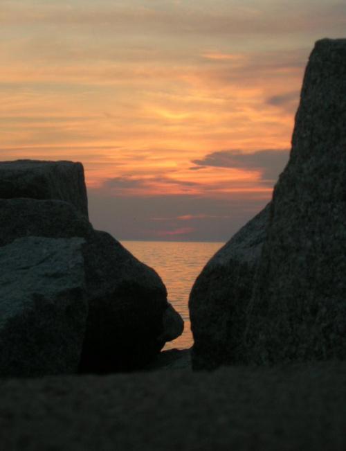 #skały #morze