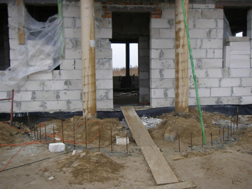 Jutro wylewają schody :-) #BudowaAgatkaIngProjekty