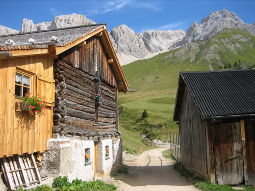 Fuciade, rejon przeł. San Pellegrino #góry #Dolomity #Włochy