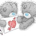 #Misie #miłość #serce #rysunek