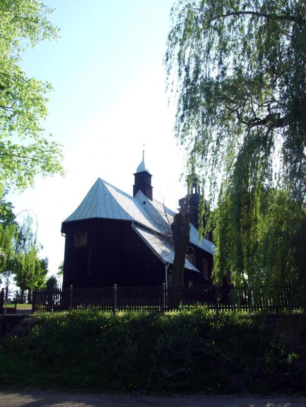 Dębnica Kościół i cmentarz #cmentarz