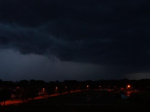 22.06.2008 Shelf cloud #ShelfCloud #PolscyŁowcyBurz #burza #chmury