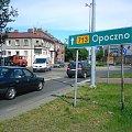 TOMASZÓW MAZOWIECKI - Rondo Dmowskiego #TomaszówMazowiecki #rondo #Opoczno #miasto #Łódzkie