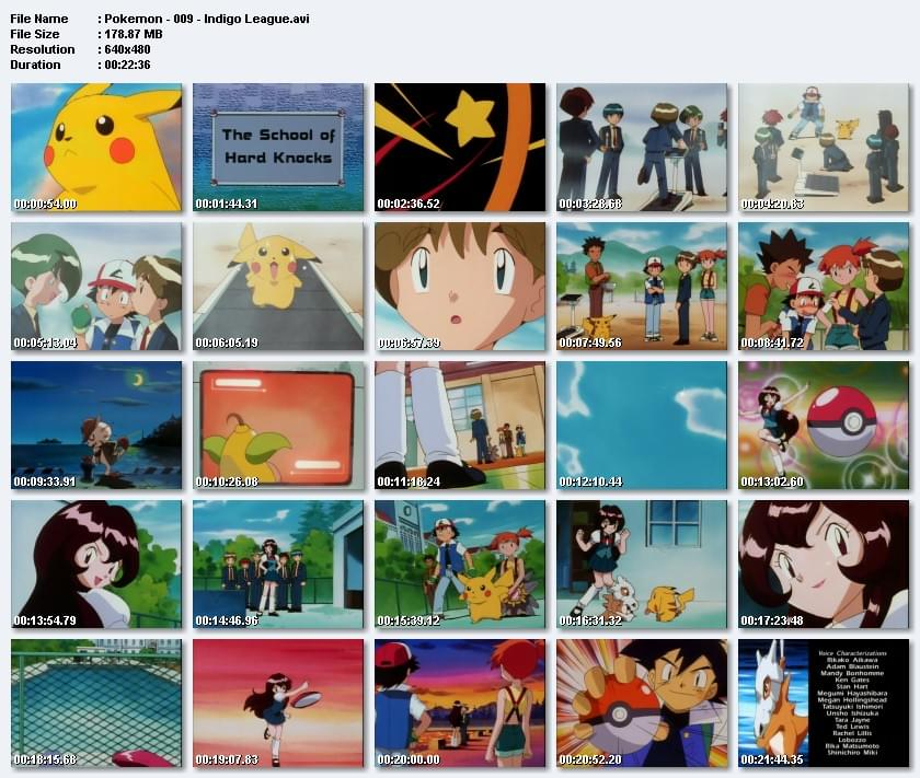 Anime Pokemon  (1997-2002) [Sezon 1-13] / Dubbing i Napisy PL