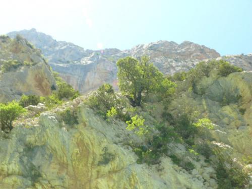 Wapienne skały alpejskiego przedgórza #CanionDuVerdon