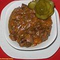 Nerki wieprzowe .Przepisy na : http://www.kulinaria.foody.pl/ , http://www.kuron.com.pl/ i http://kulinaria.uwrocie.info #nerki #podroby #mięso #wieprzowina #jedzenie #kulinaria #obiad #gotowanie #PrzepisyKulinarne