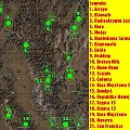 Mapka z gry fallout 2 #fallout #gra #gry #lokacje #mapa #mapka #opad