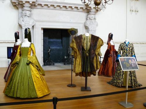 stroje z epoki Henryka VIII #Hampton #Londyn #Tudor