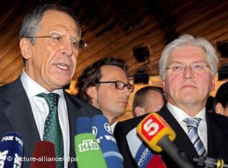 Ławrow i Steinmeier