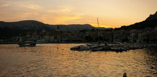#krajobraz #morze #Adriatyk #port #Chorwacja #ZachódSłońca