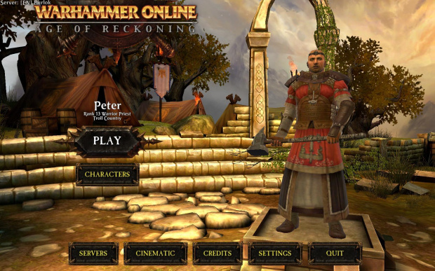 Warhammer - Peter Warrior Priest na 13lvl
