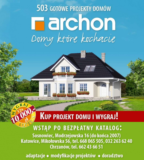 Archon + projekty domów