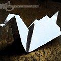 #grafika #komputerowa #origami #żuraw