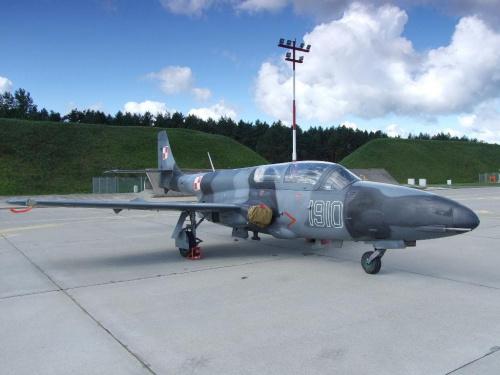 Piknik lotniczy Mirosławiec 30.08.2008, PZL - Mielec TS - 11 Iskra #Mirosławiec #lotnictwo #samoloty #PokazyLotnicze #AirShow