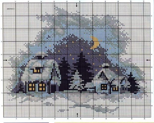 wzór do domku