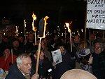 Manifestacja w obronie wolności słowa