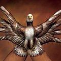 #ptak #orzeł #ręka #ręce #malarstwo